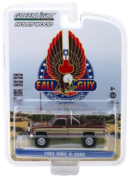 Miniatura GMC K-2500 1982 Fall Guy Stuntman 1/64 Greenlight