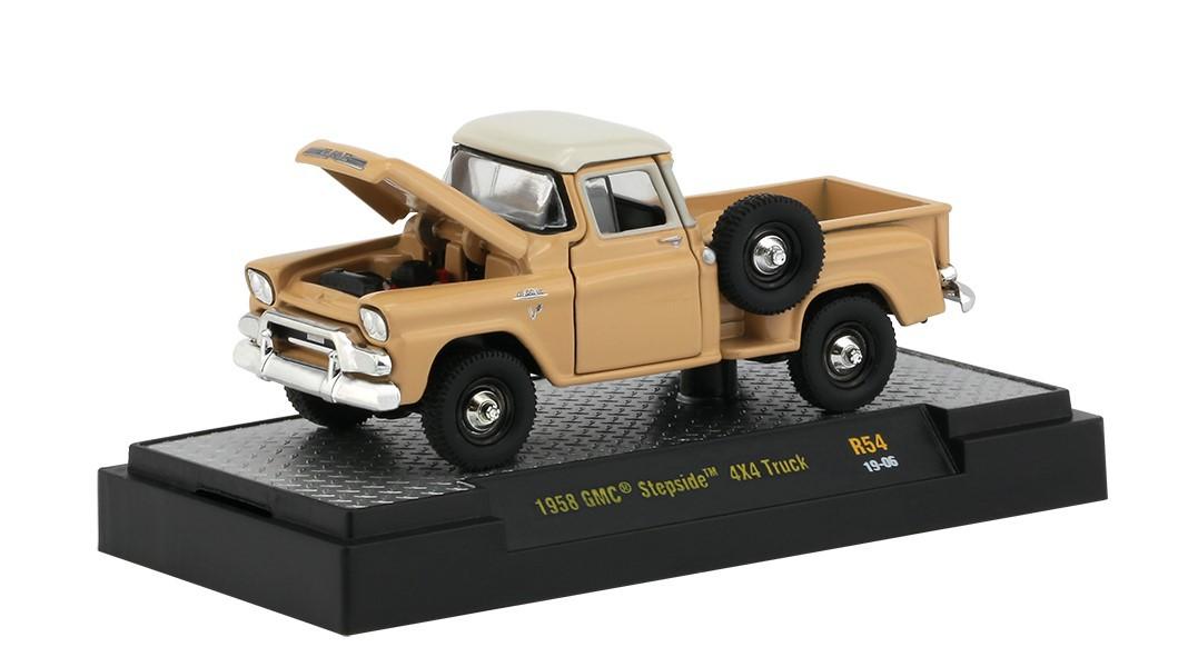 Miniatura GMC Stepside 4x4 1958 1/64 M2
