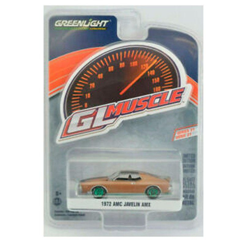 Miniatura GREEN MACHINE AMC Javelin AMX 1972 1/64 Greenlight