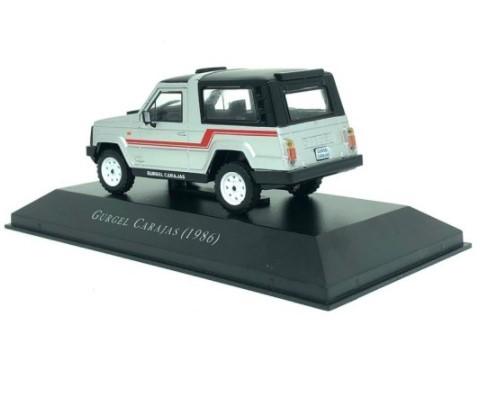 Miniatura Gurgel Carajas 1986 1/43 Ixo