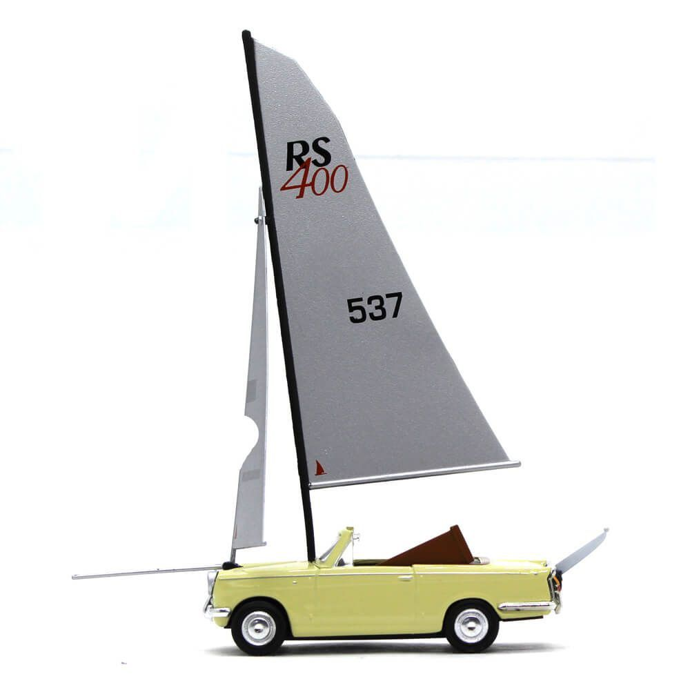 Miniatura Herald Channel Crossing 1/43 Oxford James May Serie de TV Top Gear