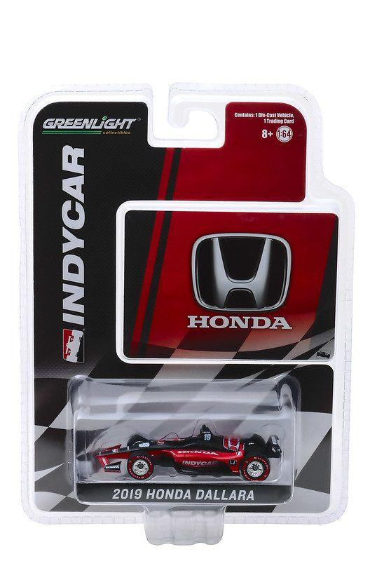 Miniatura Honda Dallara 2019 Universal Aero Kit Indycar 1/64 Greenlight