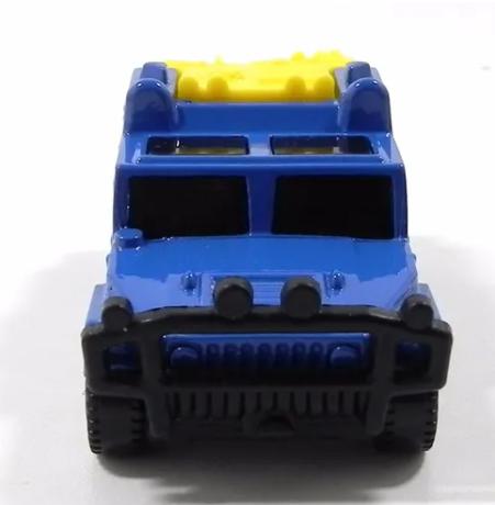 Miniatura Hummer W/Ramp Caixinha 1/64 Matchbox