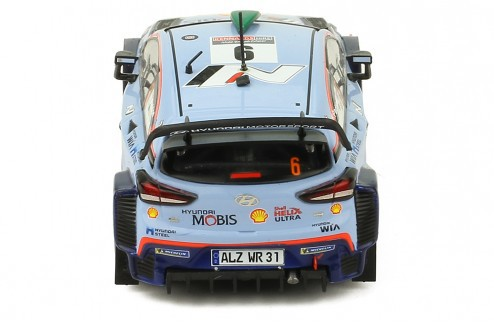 Miniatura Hyundai I20 WRC #6 Rally 1/43 Ixo