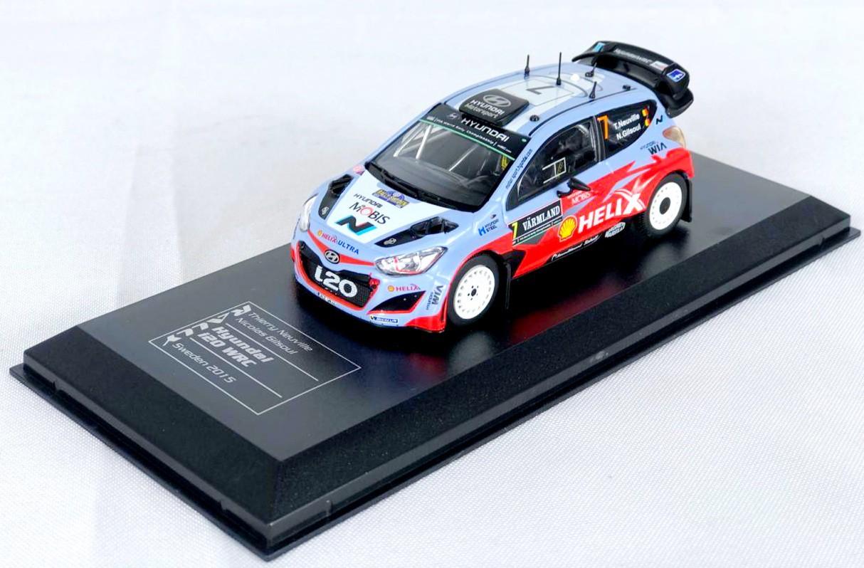 Miniatura Hyundai i20 WRC Rally 1/43 Ixo