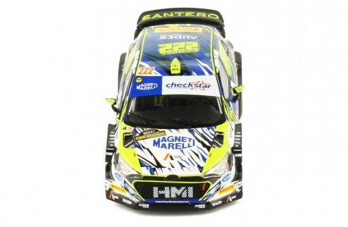 Miniatura Hyundai NG I20 WRC #22 Rally 1/43 Ixo