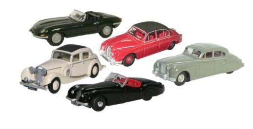 Miniatura Jaguar Collection 5 Pieces 1/76 Oxford