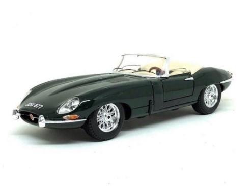 Miniatura Jaguar E Cabriolet 1961 1/18 Bburago