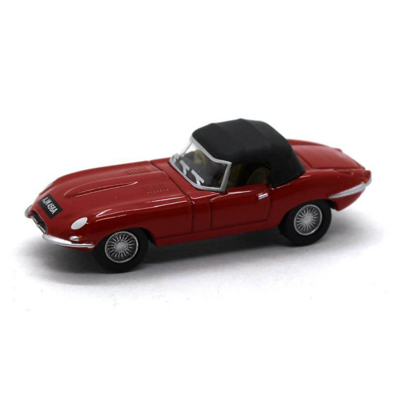 Miniatura Jaguar E Type DHC 1/76 Oxford Automobile Company