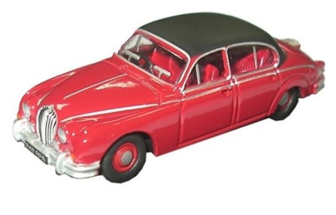 Miniatura Jaguar MK II Jag Regency Red 1/76 Oxford