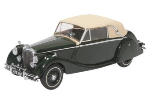 Miniatura Jaguar MKV DHC British 1/43 Oxford