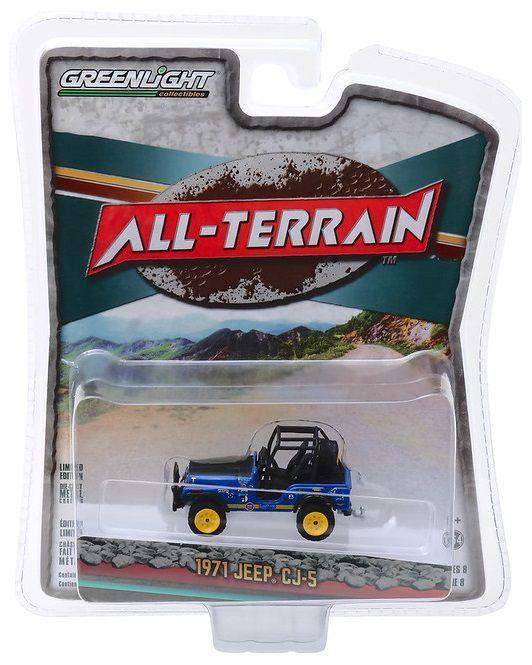 Miniatura Jeep CJ5 1971 All Terrain 1/64 Greenlight