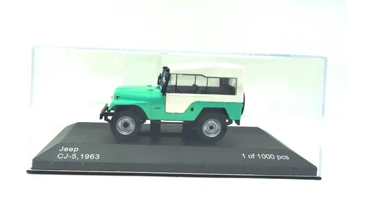 Miniatura Jeep Cj-5 1963 1/43 Whitebox