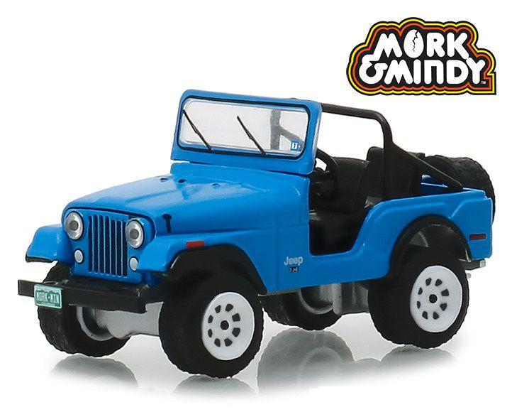 Miniatura Jeep CJ-5 1972 Mork & Mindy 1/64 Greenlight