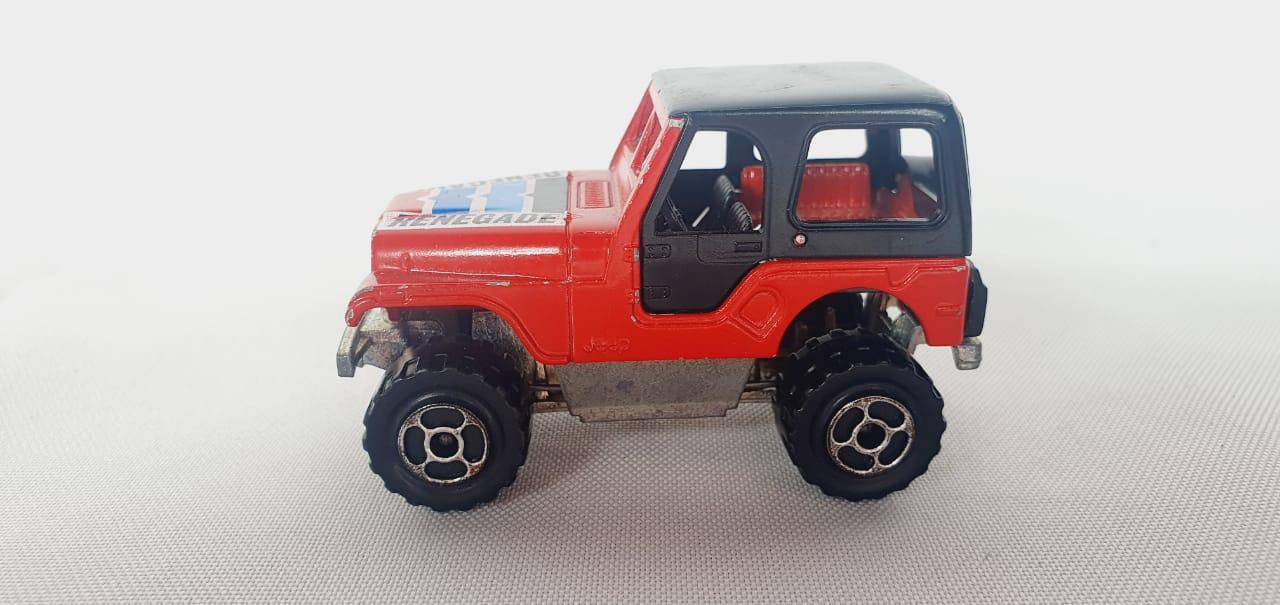 Miniatura Jeep CJ Loose 1/64 Majorette