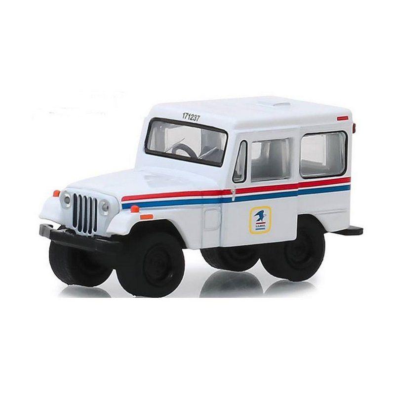 Miniatura Jeep DJ5 1971 USPS United States Postal Service 1/64 Greenlight