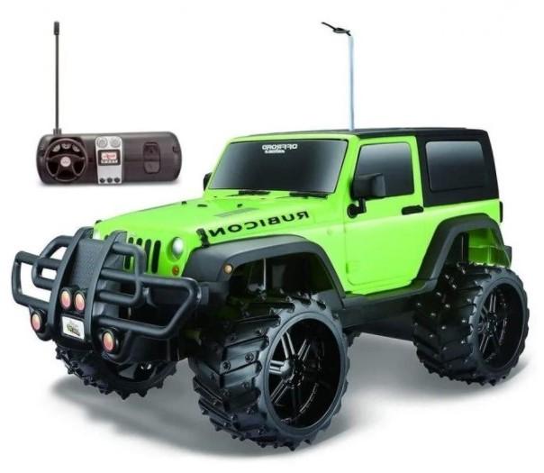 Miniatura Jeep Off Road Radio Controle 1/16 Maisto