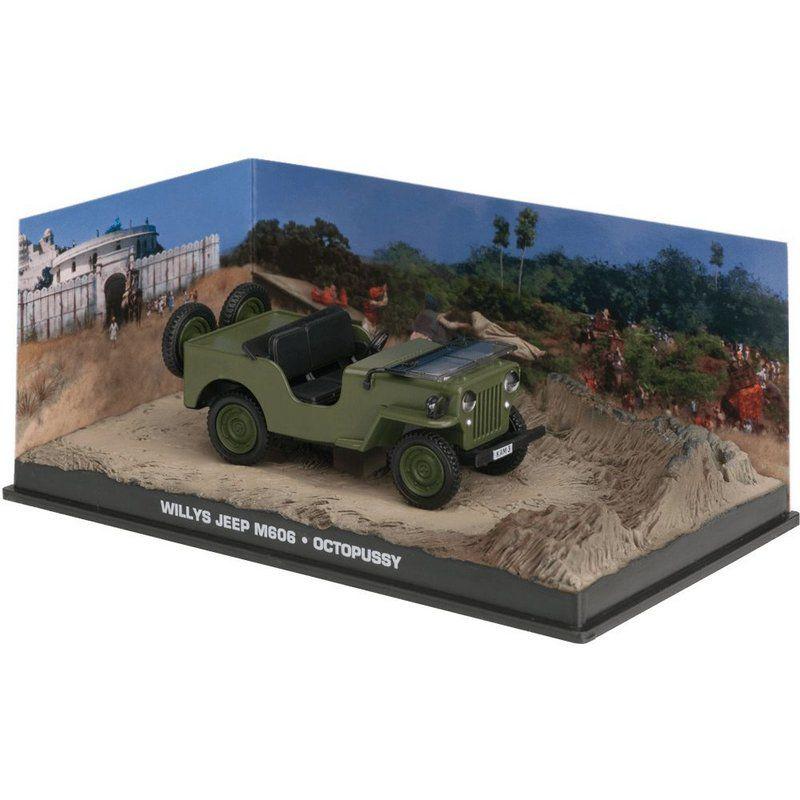 Miniatura Jeep Willys M606 – 007 James Bond Contra Octopussy 1/43 Ixo