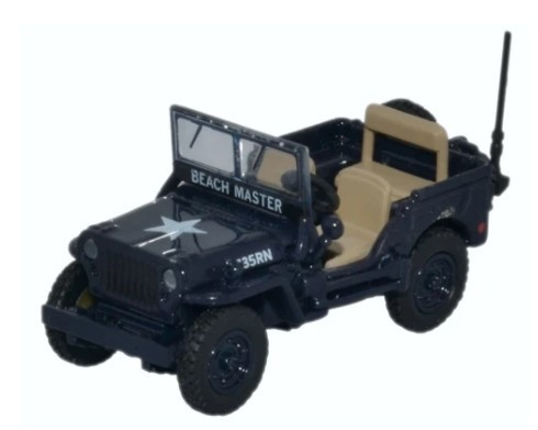 Miniatura Jeep Willys MB Royal Navy 1/76 Oxford