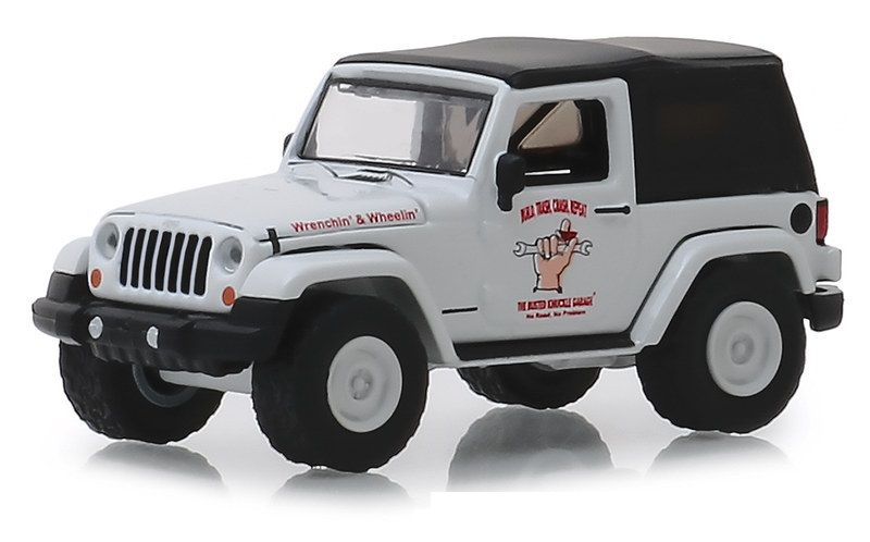 Miniatura Jeep Wrangler 2012 1/64 Greenlight