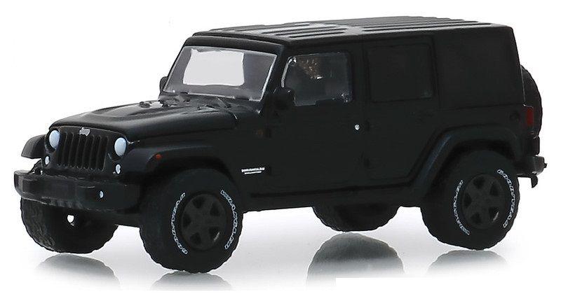 Miniatura Jeep Wrangler 2017 Black Bandit 1/64 Greenlight