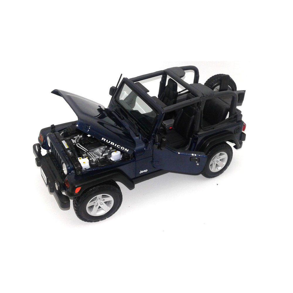 Miniatura Jeep Wrangler Rubicon 1/18 Maisto