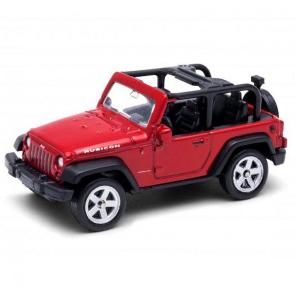 Miniatura Jeep Wrangler Rubicon 1/64 California Minis