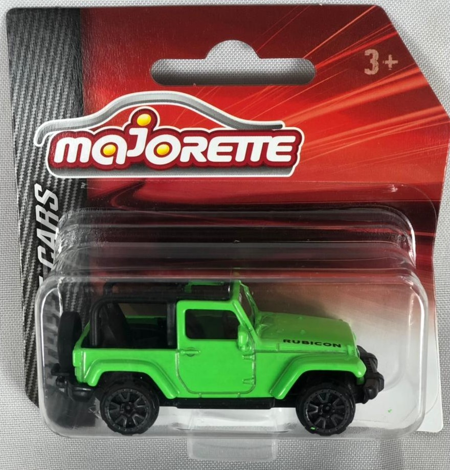 Miniatura Jeep Wrangler Rubicon Street Cars 1/64 Majorette