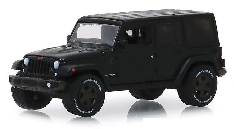 Miniatura Jeep Wrangler Unlimited 2016 1/64 Greenlight