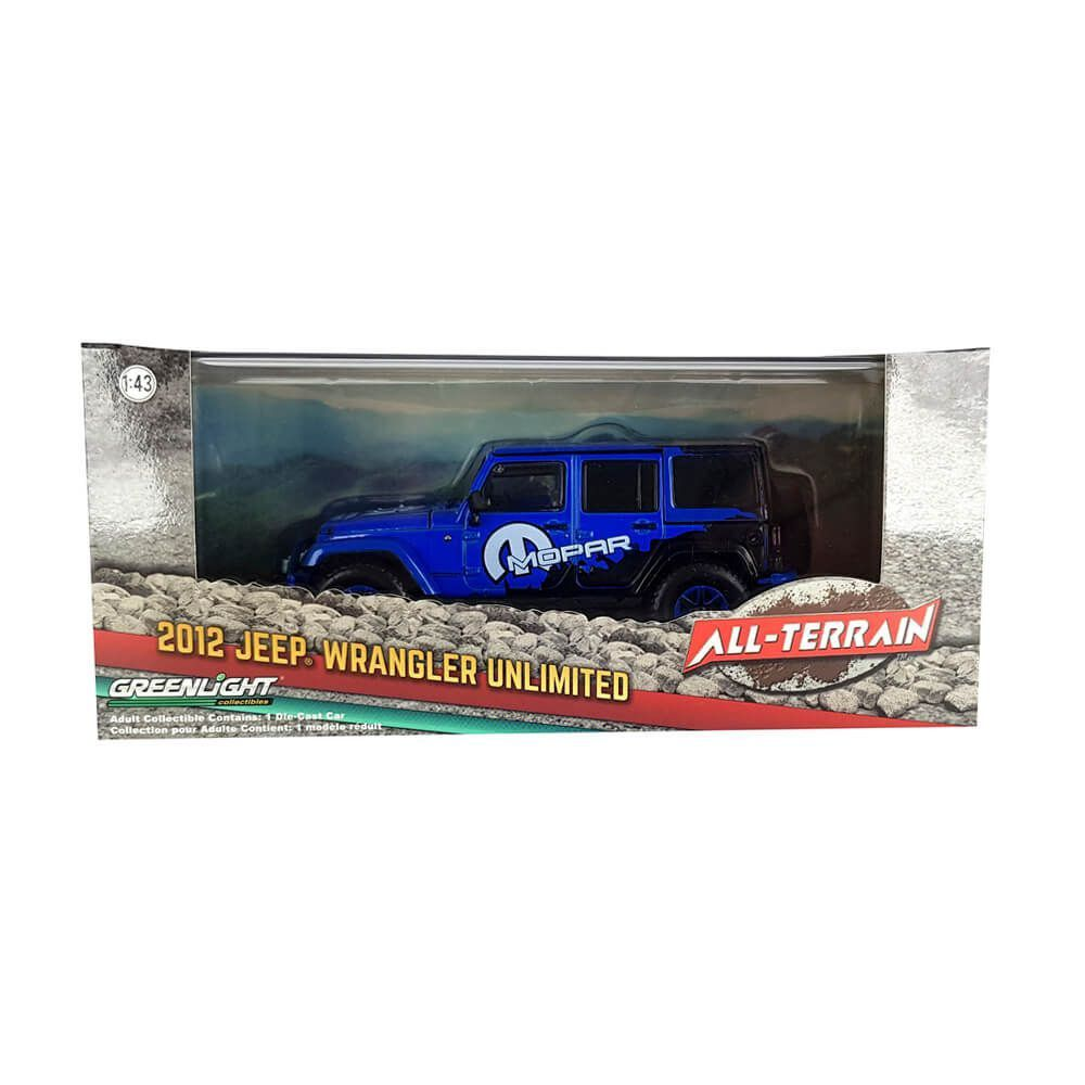 Miniatura Jeep Wrangler Unlimited Mopar Edition 2012 1/43 Greenlight All Terrain