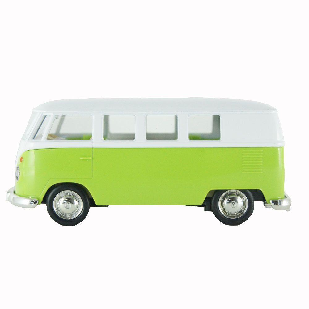 miniatura Kombi Volkswagen T1 Transporter Luz e Som 1/32 Hot Wheels
