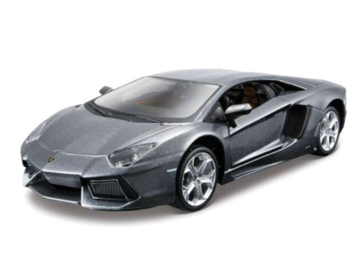 Miniatura Lamborghini Aventador LP700-4 Kit Em Metal 1/24 Maisto
