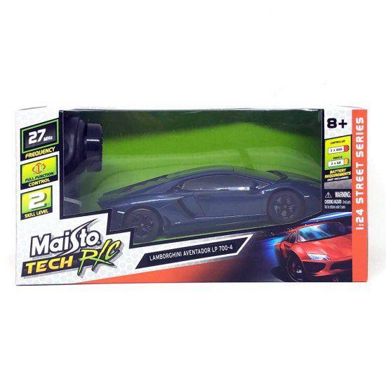 Miniatura Lamborghini Aventador LP700-4 Radio Controle 1/24 Maisto