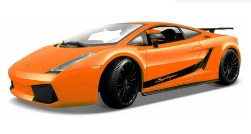 Miniatura Lamborghini Gallardo Laranja 1/18 Maisto
