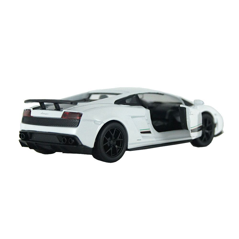 miniatura Lamborghini Gallardo LP 570-4 Superleggera Luz e Som 1/32 Hot Wheels