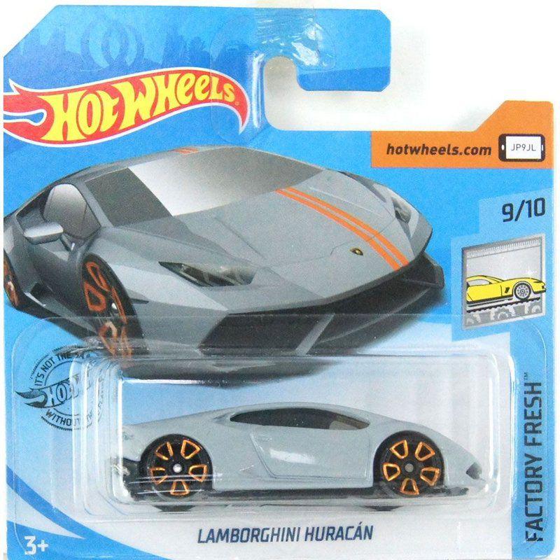 Miniatura Lamborghini Huracán Factory Fresh 1/64 Hot Wheels