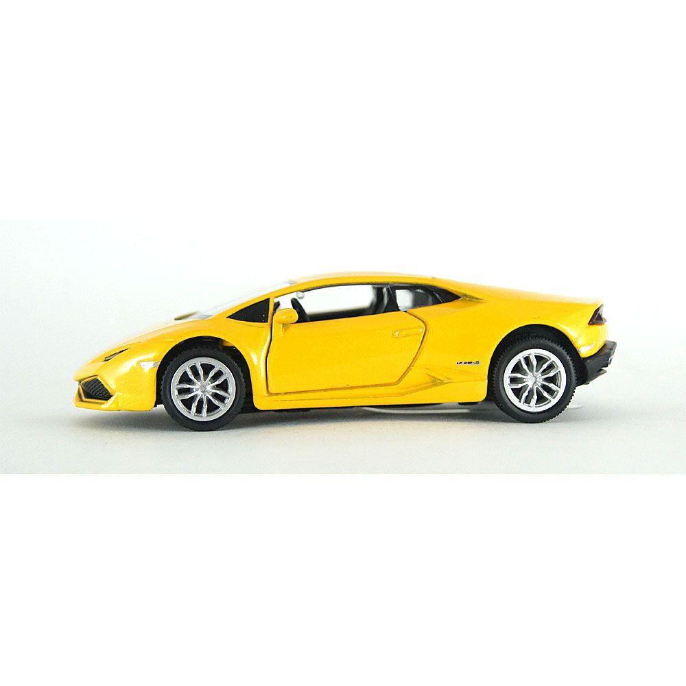 Miniatura Lamborghini Huracán Luz e Som 1/32 Hot Wheels
