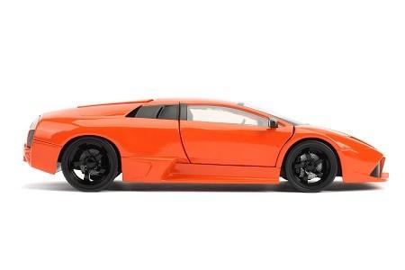 Miniatura Lamborghini Murcielago LP 640 Velozes e Furiosos 1/24 Jada Toys