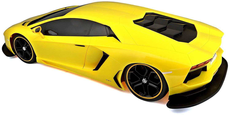 Miniatura Lamborghini Aventador Radio Controle 1/10 Maisto