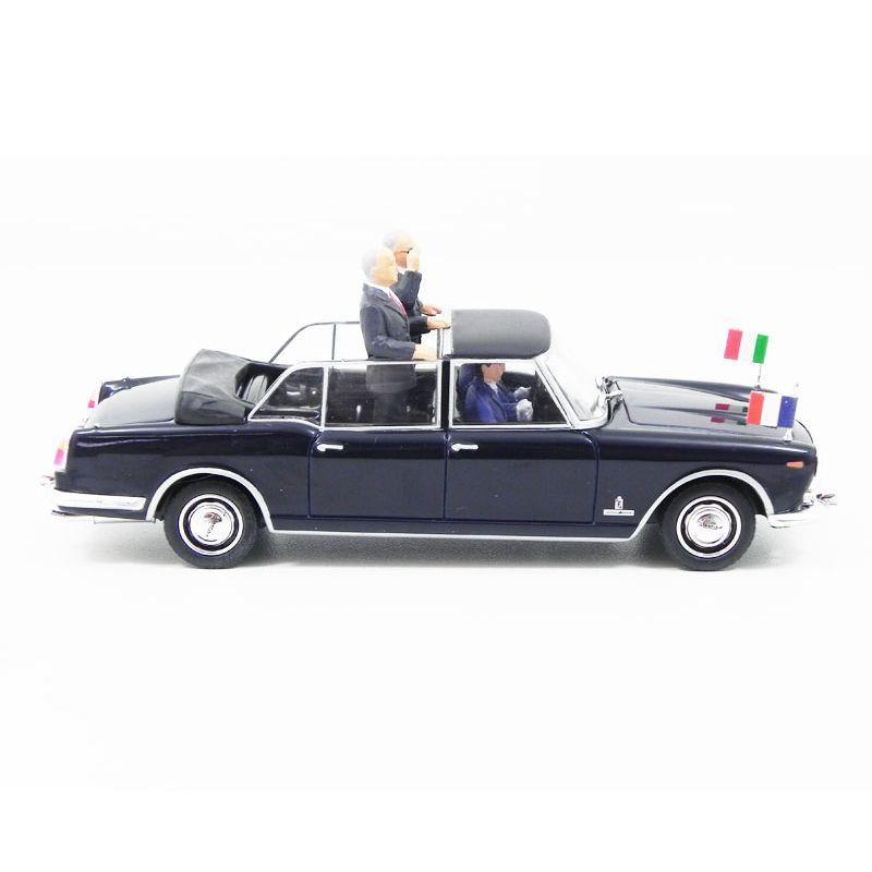 Miniatura Lancia Flaminia Presidenziale De Gaulle Saragat 1/43 Starline