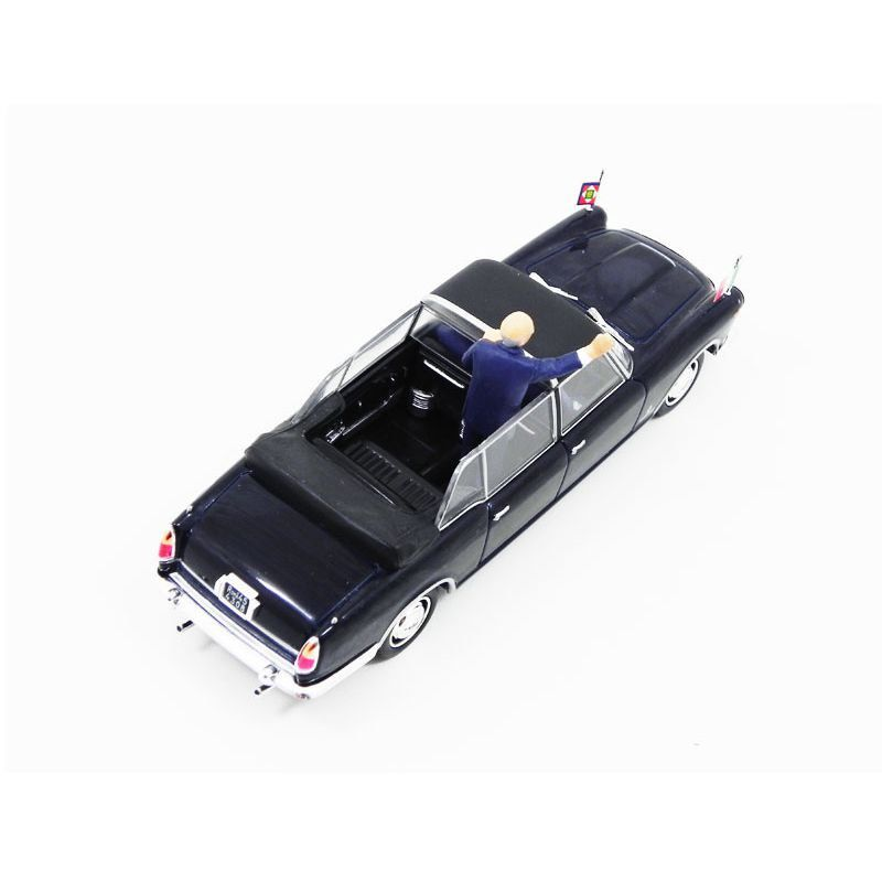 Miniatura Lancia Flaminia Presidenziale De Rep. Napolitano R 2009 1/43 Starline