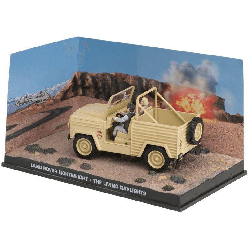 Miniatura Land Rover – 007 James Bond Marcado para a morte 1/43 Ixo