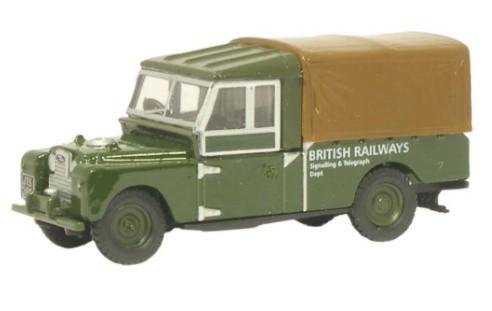 Miniatura Land Rover 109 British Railways 1/76 Oxford