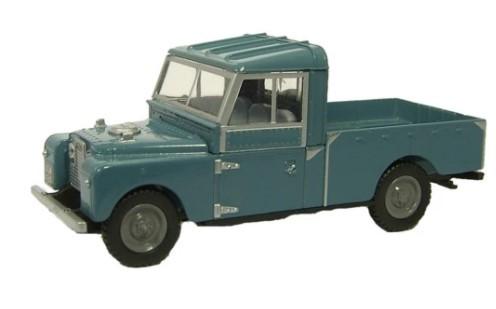 Miniatura Land Rover 109 Open Blue 1/76 Oxford