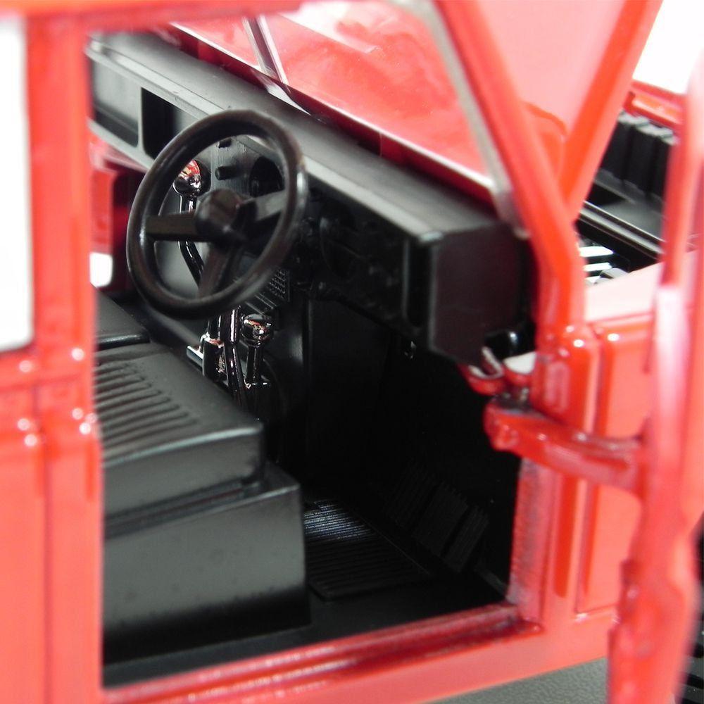 Miniatura Land Rover 1/24 Bburago