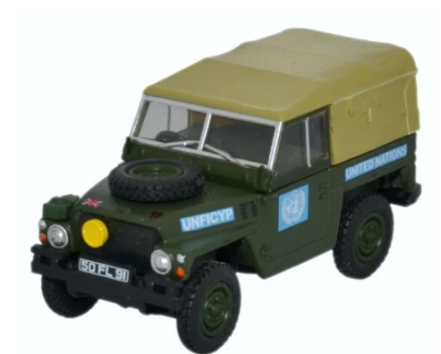 Miniatura Land Rover 1/2 Ton Lightweight United Nations 1/76 Oxford