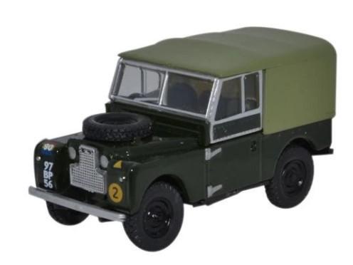 Miniatura Land Rover 88 British Army 1/76 Oxford
