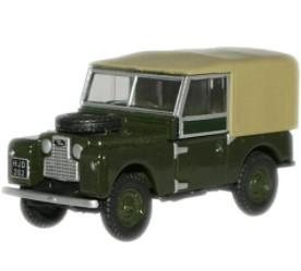 Miniatura Land Rover 88 Canvas 1/76 Oxford