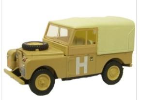 Miniatura Land Rover 88 Military 1/76 Oxford
