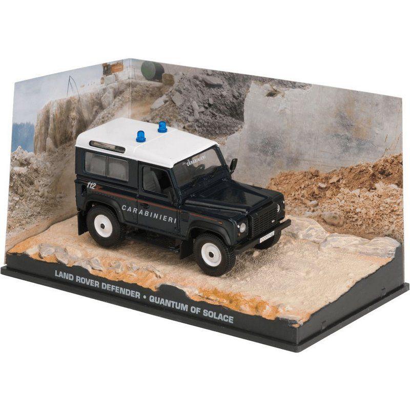 Miniatura Land Rover Defender – 007 James Bond Quantum of solace 1/43 Ixo